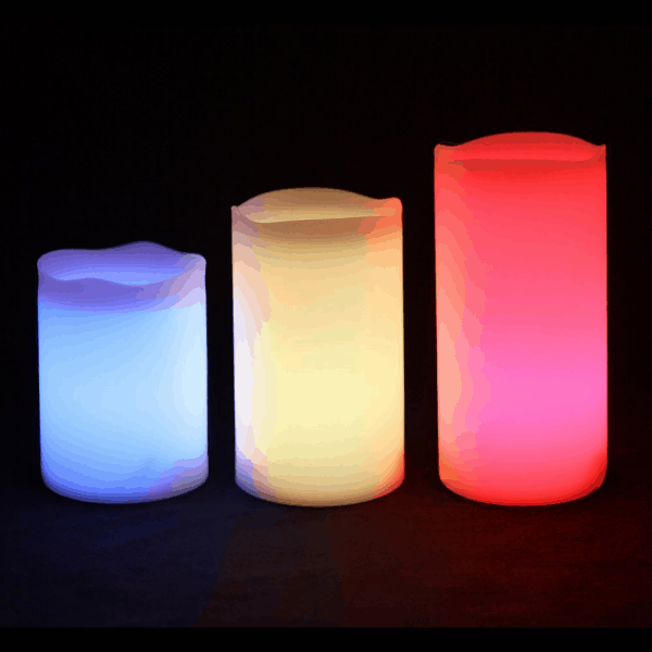 Frostfire Outdoor LED Candles